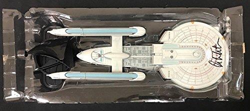 William Shatner Signed USS Enterpirse Ncc-1701-B Starship - JSA Certified