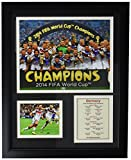 Legends Never Die Germany 2014 FIFA World Cup Champions Celebration Framed Photo Collage, 11 by 14-Inch