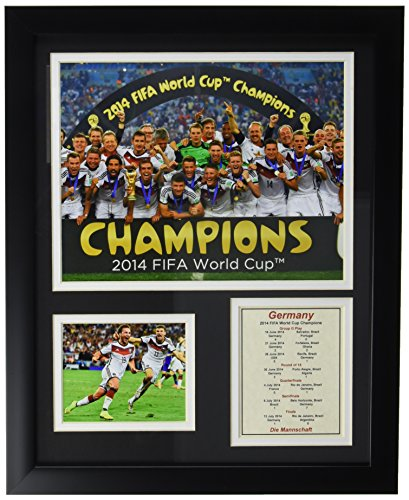 Legends Never Die Germany 2014 FIFA World Cup Champions Celebration Framed Photo Collage, 11 by - Pictures Soccer World Cup