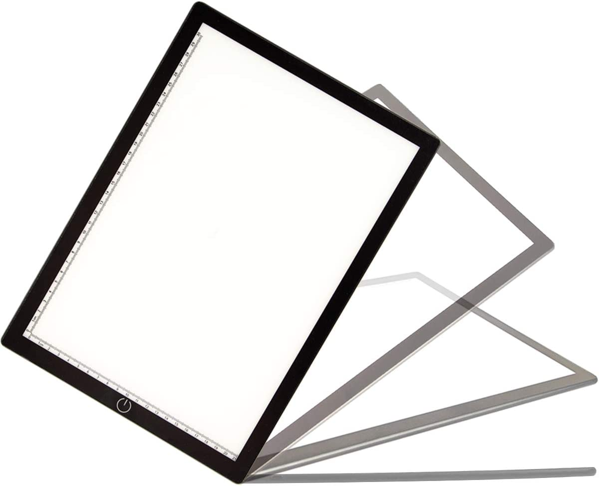 /USB Power Cable Dimmable Brightness LED Artcraft Tracing Light Box Light Pad for Artists Drawing Sketching Animation Stencilling X-rayViewi A4 LED Copy Board,Ultra-thin Portable LED Light Box Tracer