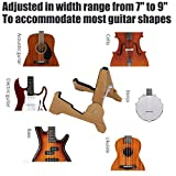 Hidear Solid Wood Portable Guitar Stand for