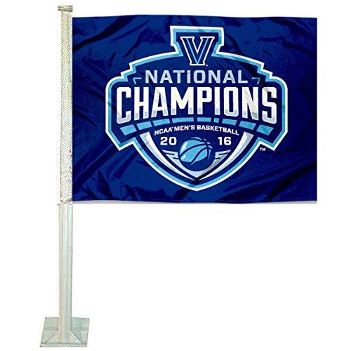 National Champions Car Flag - Villanova Wildcats 2016 National Champions Car Flag