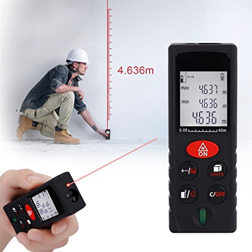 Digital Distance Measuring Instruments : Leshp handheld laser distance meter digital measure