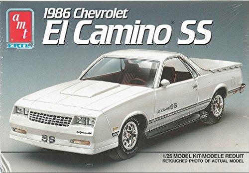 Ertl Car (AMT 1986 El Camino SS Plastic Model Truck KIt 1:25 Scale)