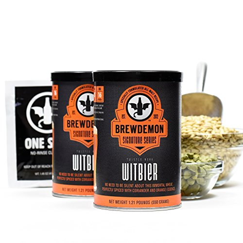 Twisted Monk Witbier Signature Beer Refill (Beer Refill Kit)