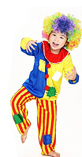 Cute  (Toddler Rainbow Clown Costumes)