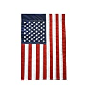 """51groups New Embroidered Stars American Flag, Weatherproof USA Flag, Show United States Patriotic Support, Small Banner, 12"""" W x 18"""" L"""