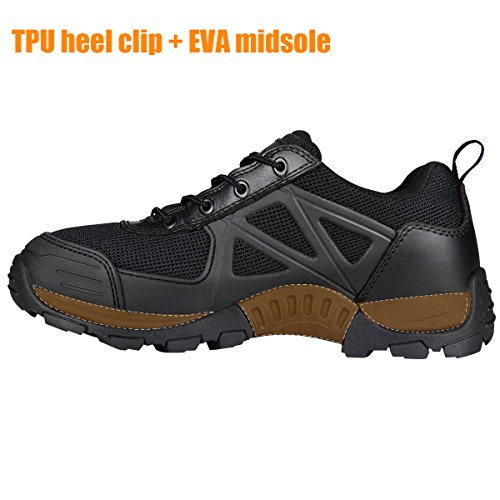 Boots Shoes Wild Men's Black Low Hiking Outdoor SOLDIER Hiking FREE A8awRBB