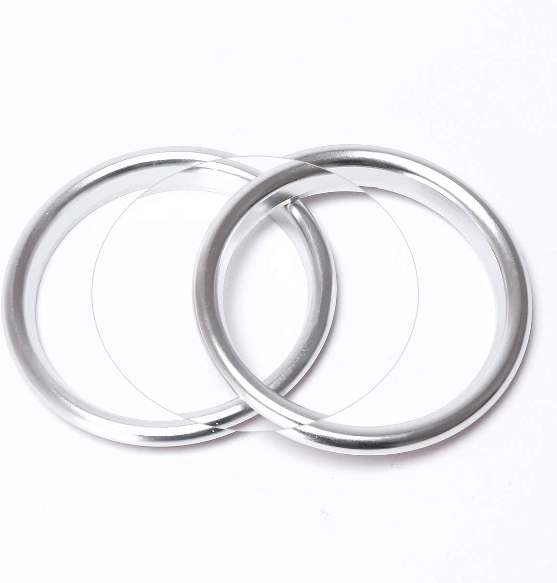 Air Vent Outlet Decoration Ring Air Condition Vent Cover Stickers for 2013-2016 Audi A3//S3 Aluminium Alloy 4pcs//Set,Silver Color