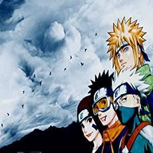 Deep Fetters Memories Japanese Popular Anime Cartoon Naruto Zippered Pillow Case 18x18 (Twin sides)