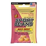 Jelly Belly Sport Beans, Energizing Jelly Beans, Strawberry Banana Smoothie Flavor, 24 Pack, 1-oz Each