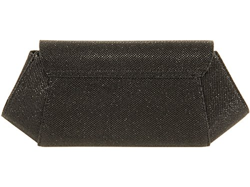 Xardi London New glitter baguette designer donne frizione Prom nuziale da sera party Bags Black