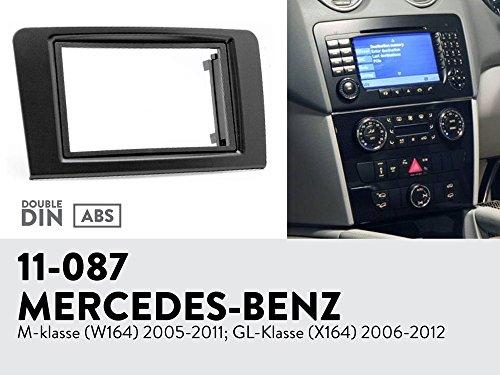 UGAR 11-087 Trim Fascia Car Radio Installation Mounting Kit for MERCEDES-BENZ M-klasse (W164) 2005-2011; GL-Klasse (X164) 2006-2012 - Klasse Kit