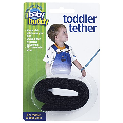 Baby Buddy Toddler Tether, Black