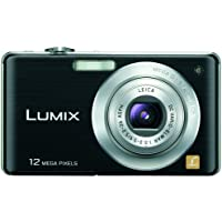 Panasonic Lumix DMC-FS15 12MP Digital Camera with 5x MEGA Optical Image Stabilized Zoom and 2.7 inch LCD (Black) Overview Review Image