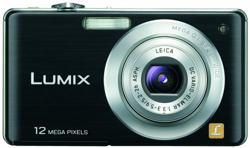 (Panasonic Lumix DMC-FS15 12MP Digital Camera with 5x MEGA Optical Image Stabilized Zoom and 2.7 inch LCD (Black))
