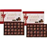 Milk Chocolate Caramels Holiday Gift Box set of 2