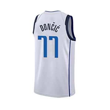 SEYE1° Dallas Mavericks, 77, 2019 NBA Jersey, DONCIC Camiseta De ...