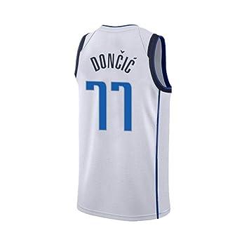 DONCIC Camiseta De Niño 77 SEYE1° Dallas Mavericks 2019 NBA Jersey
