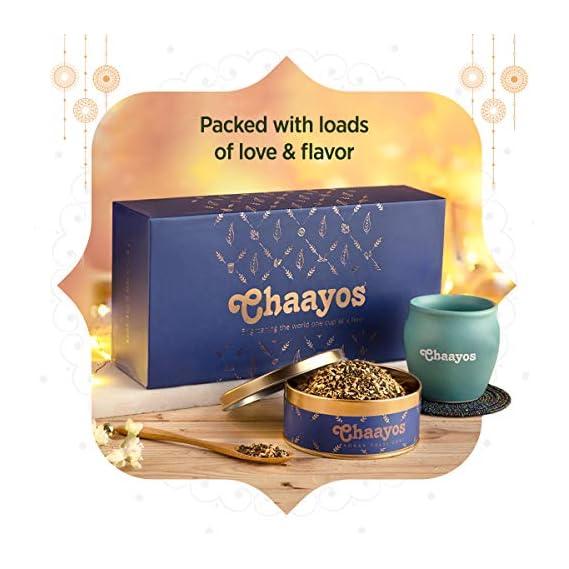 Chaayos Diwali Tea Gift Box | Perfect Festival Gift | Immunity Boosting Tea & Kulhad | Wellness Gift Hamper