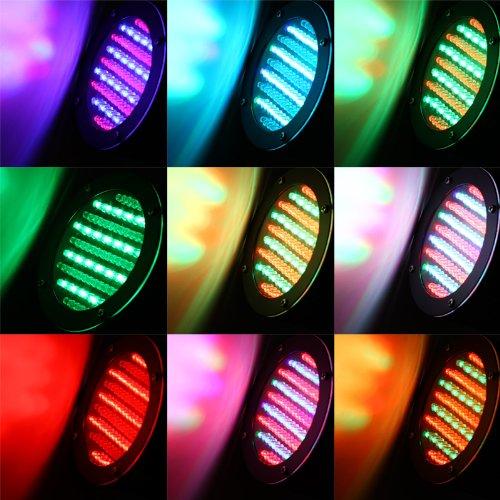 Lixada Mini Portable RGB LED Stage Lights Party Show DMX ...