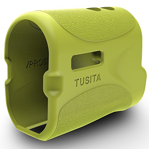 TUSITA Protective Cover for TecTecTec VPRO500 VPRO500S Slope, Golf Laser Rangefinder Accessories Replacement Silicone Case Skin(Green) ()
