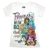 Monster High Fitting in is So Out Girls T-shirt
