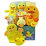 Splish Splash Bath Time Fun Care Package, Neutral Baby Boys or Girls