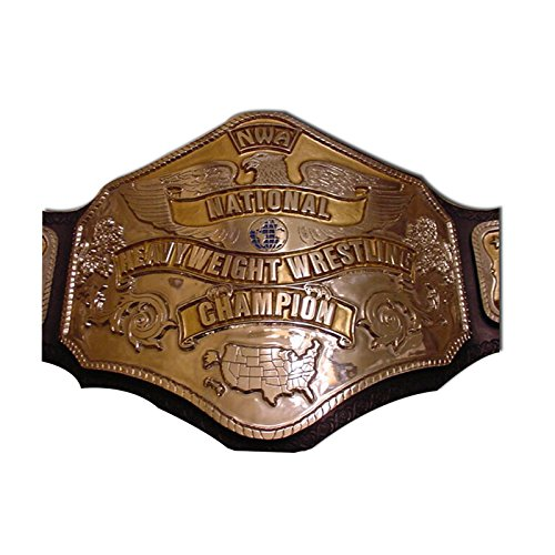 Haiosports NWA National Championship Belt (Belt Replica Nwa)
