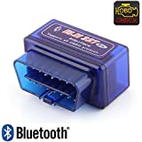 2017 Mini Auto Car ELM327 OBD2 ODBII CAN Bluetooth Scanner Tool Torque Android