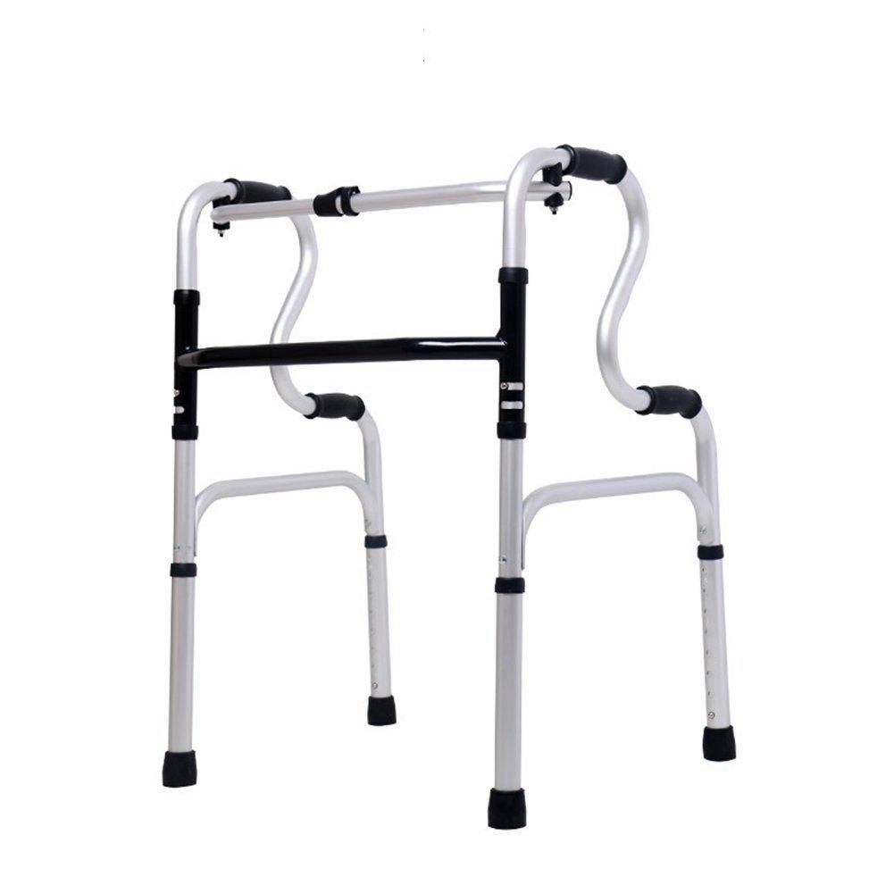 GEGEQUNAERYA Gehstock mit Gehhilfe, ältere Aluminiumlegierung, 122 cm, Gehstock mit Sitzbrett