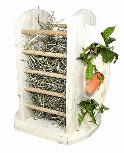 Elmato Nager-Futtertower für Heu und Karotten