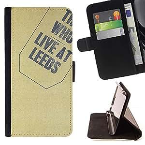 For Sony Xperia Z2 D6502 Case , Textura Quién- la tarjeta de Crédito Slots PU Funda de cuero Monedero caso cubierta de piel