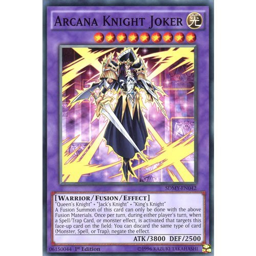 YuGiOh : SDMY-EN042 1st Ed Arcana Knight Joker Common Card