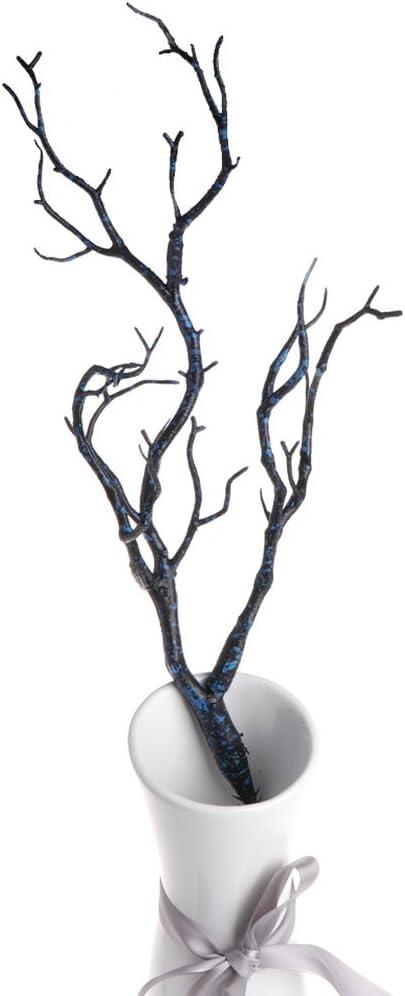 Getrocknet Baum Haus Blumen Pfau Koralle Zweige Künstlich Pflanze Hochzeit Dekor
