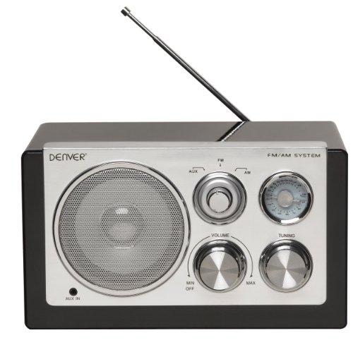 Denver 12213510 Smart Design AM/FM Radio schwarz