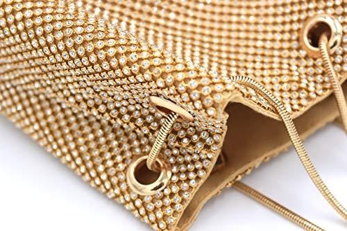 Body Cell Purses Women Rhinestone Soft Mini Shoulder Gold Handbags Cross Bag Phone MMYOMI Bags 0BqzUaUx