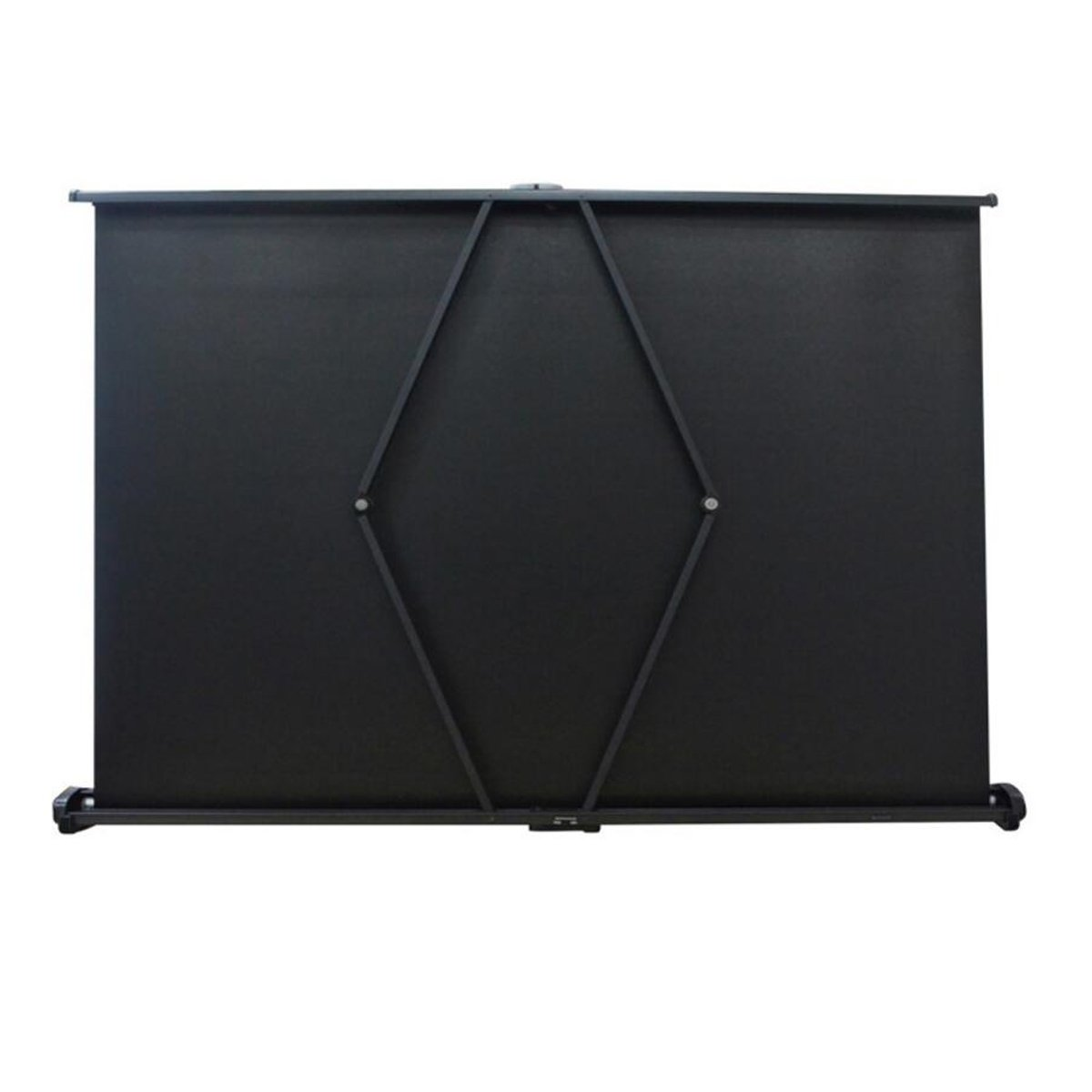 4:3//16:9 Compatiable Cocar 50 Portable Projection Screen for Mini//Professional LED//LCD//DLP Projector Self Standing Pull-Out Style Indoor Outdoor Home Cinema