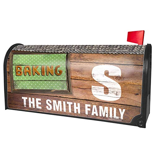 (NEONBLOND Custom Mailbox Cover Baking Biscuits Tart Bakery)