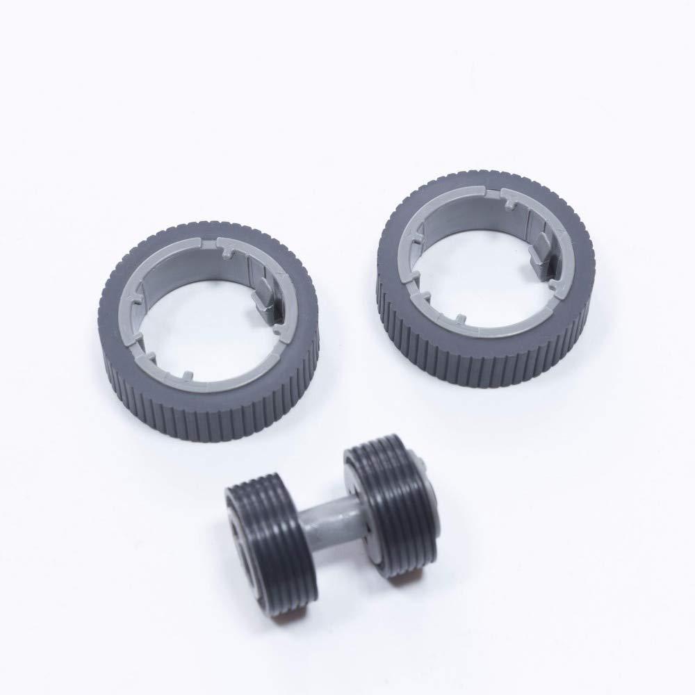 Yoton SLON 1SET New PA03670-0001 PA03670-0002 for Fujitsu Fi-7160 Fi-7180 Fi-7240 Fi-7260 Fi-7280 Fi-7460 Scanner Brake Pick Roller