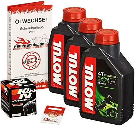 Motul 10w 40 Öl K N Ölfilter Cbr 600 Rr 03 15 Pc37 Pc40 Ölwechselset Inkl Motoröl Filter Dichtring Auto