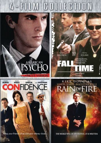 American Psycho/ Fall Time/ Confidence/ Rain Of Fire - Quadruple Feature [DVD] (Psycho Ward Movie)