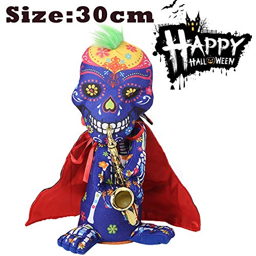 PSFS Halloween Stuffed Plush Toys |Halloween Party Decoration Ghost Nightmare Animated (A) -