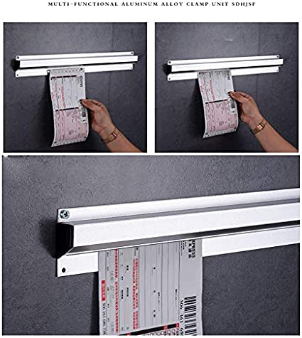 Acobonline Barra para sujeción de Notas,sujetacomandas,Barra (90_cm): Amazon.es: Hogar
