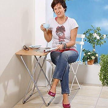 Beistell Klapptisch.Moderne Hausfrau Beistell Klapptisch Amazon De Küche