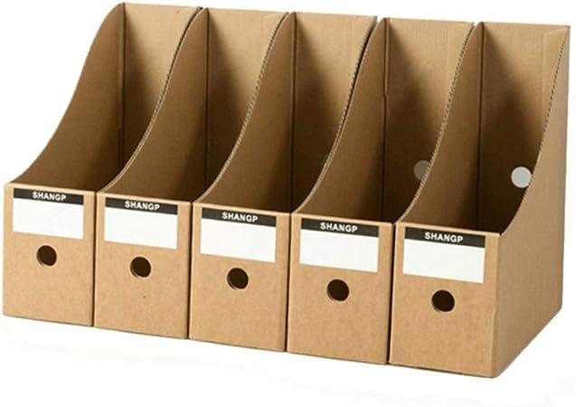 WHL Material de Oficina Caja de Archivo Caja de Almacenamiento de Almacenamiento: Amazon.es: Hogar