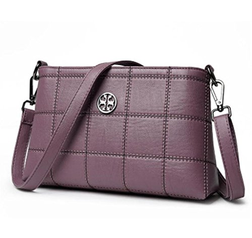 Shopping porpora coloriSemplicerosso Shoppingcinque Single Messenger Shoulder Shoulder Bag Bag Bao IWD29EYH