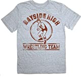 Saved by the Bell Bayside High Wrestling Team Gray T-shirt Tee