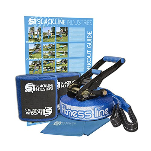 Slackline Industries 50 Foot Fitness Line Kit