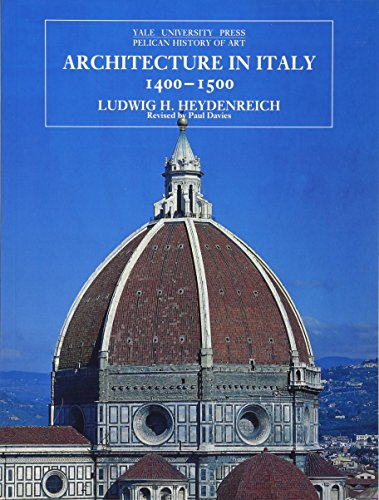 Architecture in Italy, 1400-1500 (The Yale University Press Pelican...